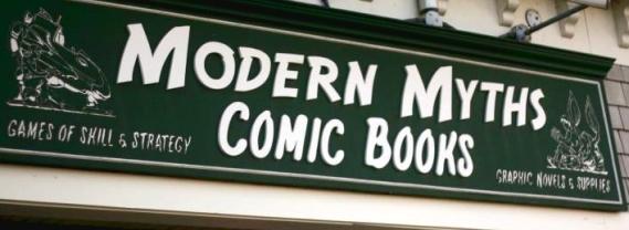 Modern Myths' storefront