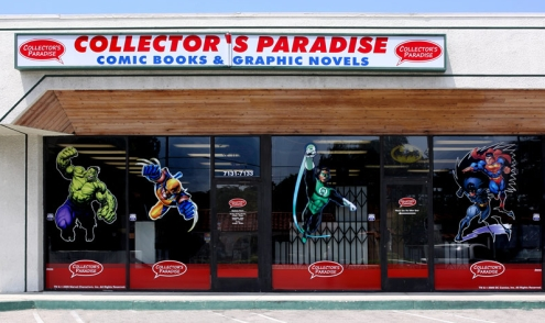 Collector's Paradise storefront, Canoga Park, CA