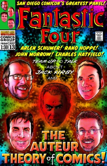 The Auteur Theory of Comics