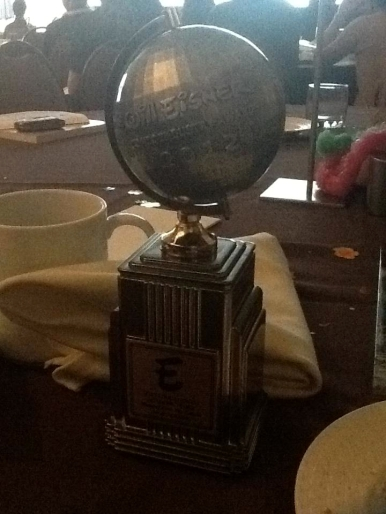 The Eisner Award, photographed at the award ceremony by Nick Hatfield