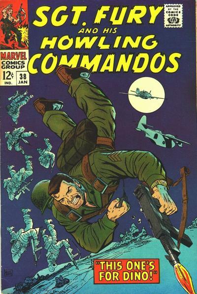 Sgt Fury #38 (1967)