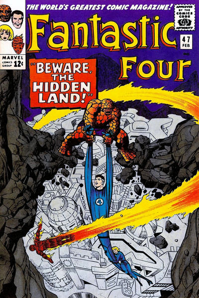 Fantastic Four 47 cover