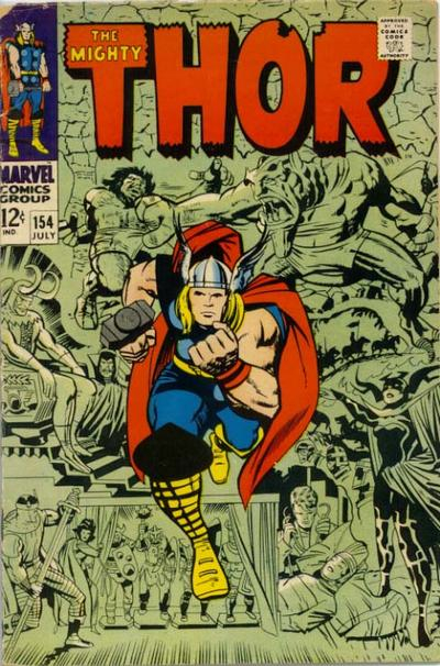 Thor 154 cover