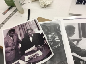 Vintage photos of Kirby and Joe Simon