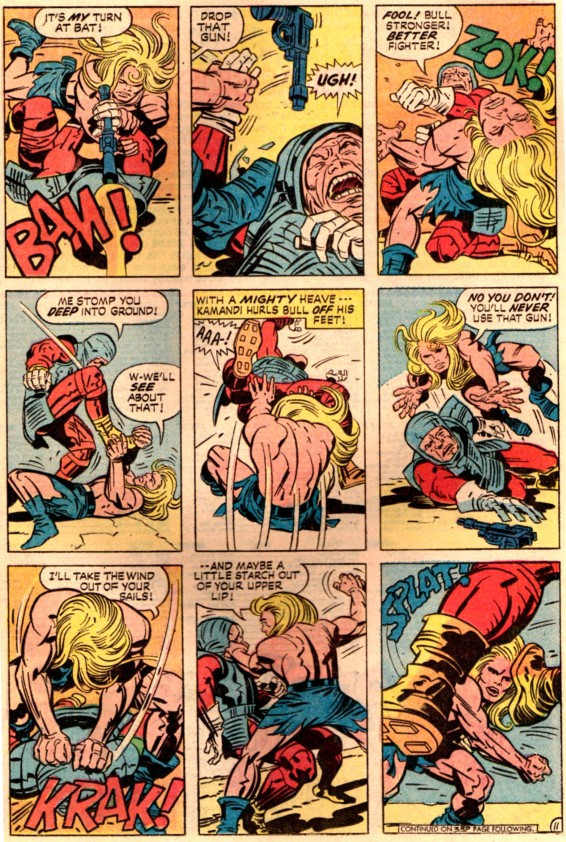 kamandi-14-fistfight
