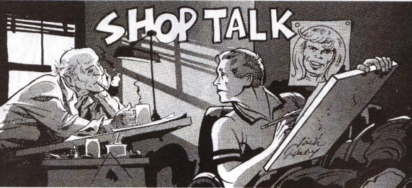 Kirby and Eisner Shop Talk