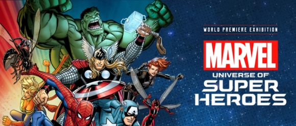MoPop's Marvel: Universe of Super Heroes (banner)