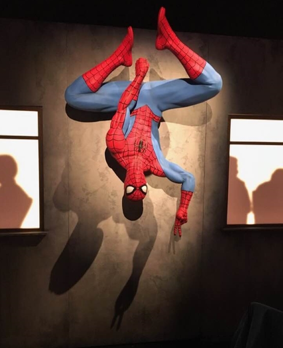 Spider-Man statue at MoPop