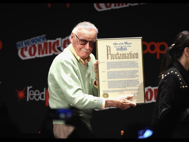 Stan Lee at Stan Lee Day, 2016