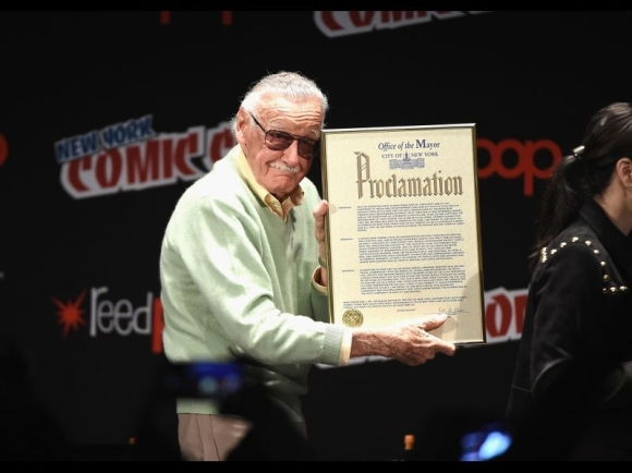 Stan Lee at Stan Lee Day, 2016