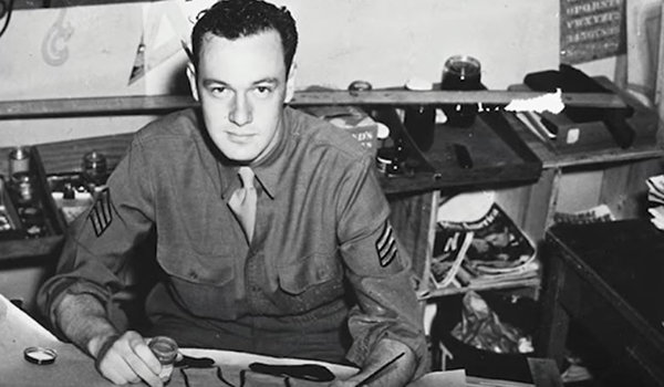 Stan Lee in the US Army, c. 1942-45
