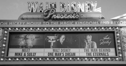 Walt Disney Presents marquee