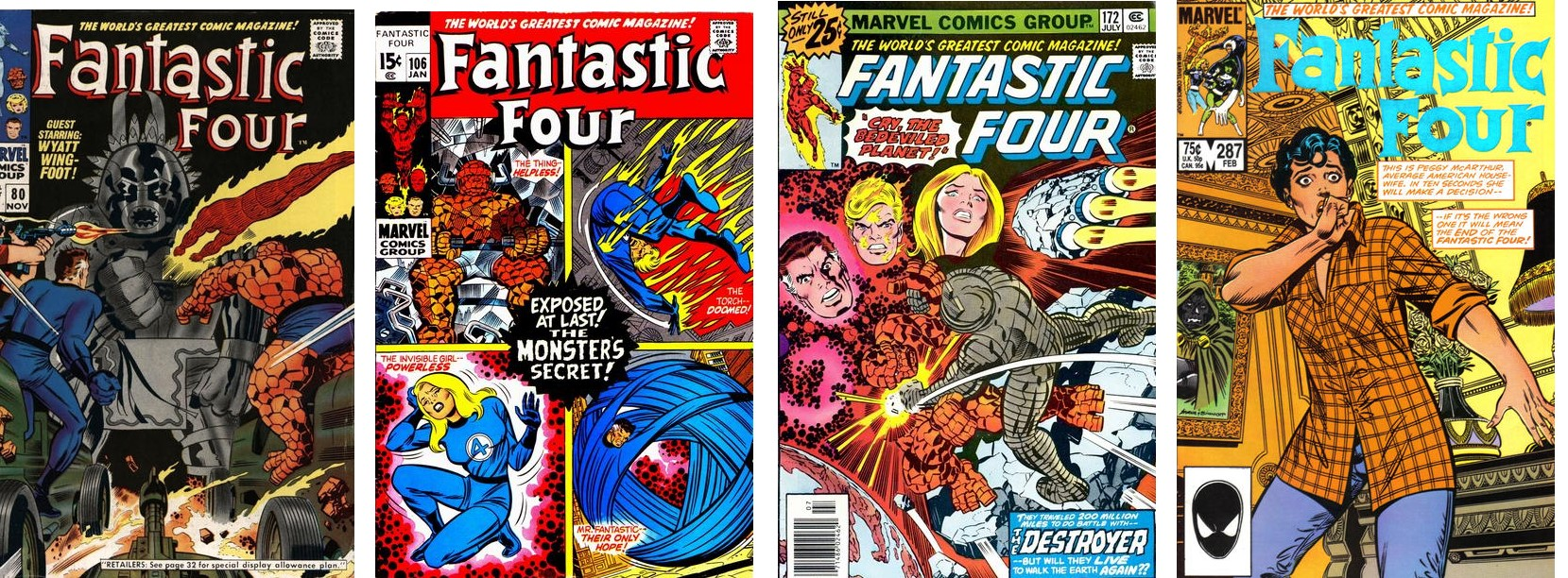FF cover collage