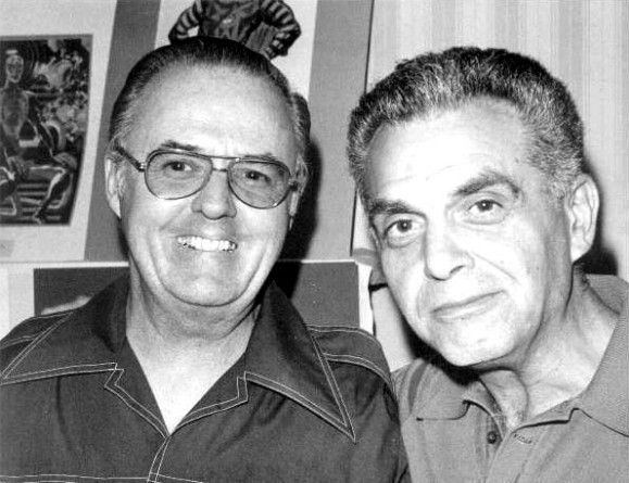Kirby and Joe Sinnott, 1975