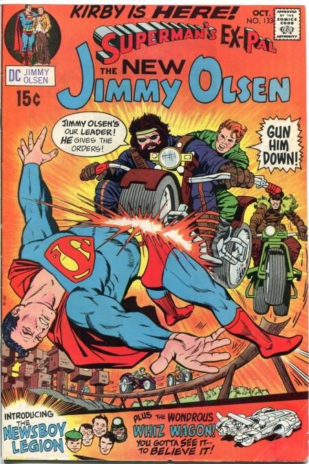 Jimmy Olsen 133 cover